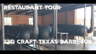 Exclusive - FULL TOUR of the new ZZQ - Texas Craft Barbecue Location