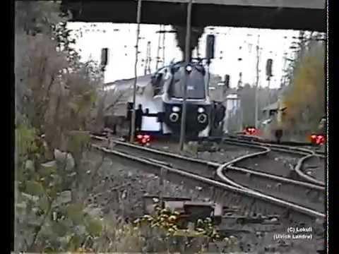 Ein stürmisches Eisenbahnwochenende in Solingen (2002)