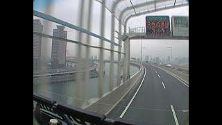 Дождливый Токио из окна автобуса, 2004 год
