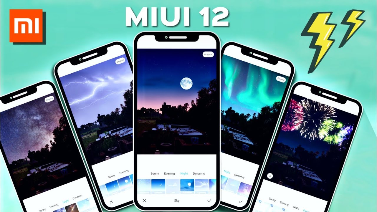 ADVANCE MIUI 12 GALLERY FEATURES | NEW NIGHT MODE FILTERS, ADD DEVICE FRAME | MIUI 12 FEATURES