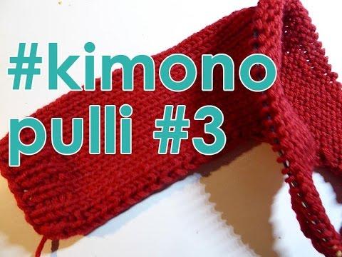 Stricken Mit Elizzza Kimono Pulli Quergestrickt Teil 3 Youtube