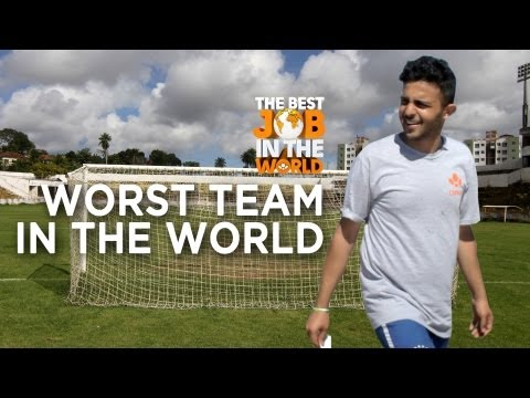 The Worst Football Team In The World | Best Job In The World