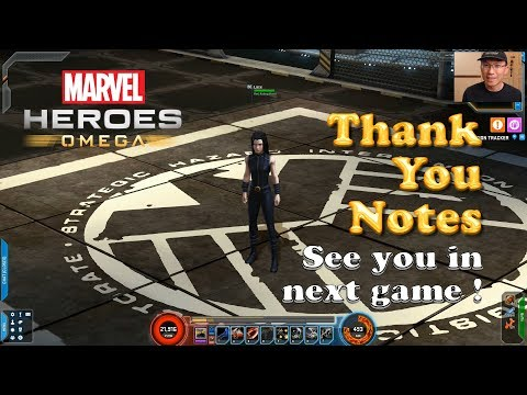 [Marvel Heroes] Thank You Notes / Finale