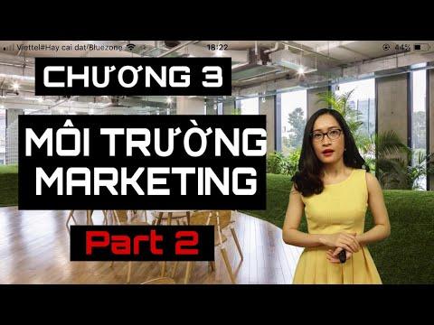 #5 CHƯƠNG 3 - MÔI TRƯỜNG MARKETING | PART 2 | MARKETING CĂN BẢN