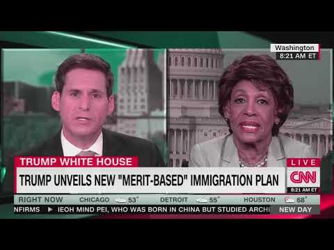 Maxine Waters labels parts of Trump's immigration plan 'very racist'