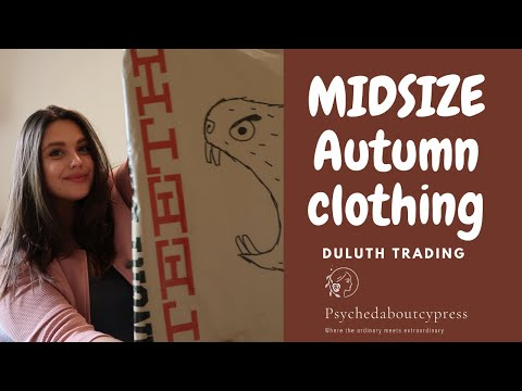 MIDSIZE Autumn Clothing Haul From Duluth Trading Company
