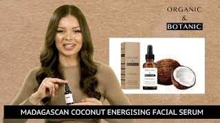 Madagascan Coconut Facial Serum 30 sec New style