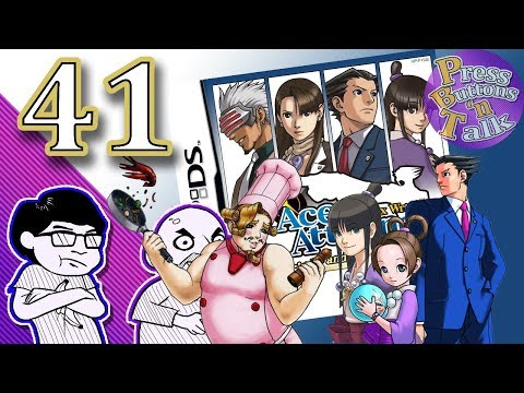 Phoenix Wright: Trials and Tribulations, Ep. 41: Baby Badger - Press Buttons 'n Talk