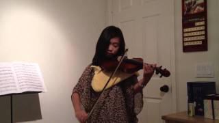 Veracini Gigue in D minor (Suzuki Violin School Book 5)