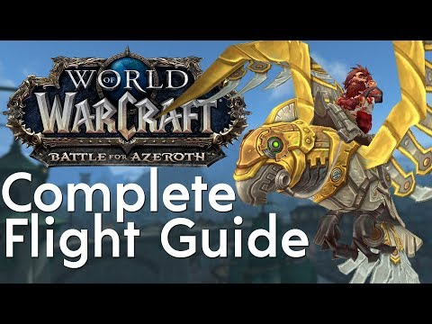 How to Unlock Flying in Battle for Azeroth