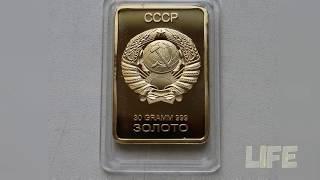 Клад золота зарытый во время войны банком! A treasure of gold!