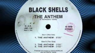 "BLACK SHELLS  ""The Anthem""   12"""