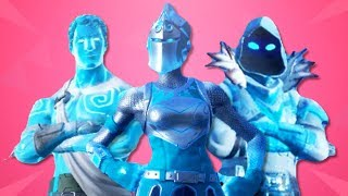 "*NEW* ""FROZEN LEGENDS SKIN PACK"" IN FORTNITE! (FROZEN RED KNIGHT, FROZEN RAVEN, FROZEN LOVE RANGER)!"