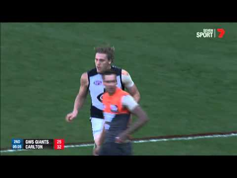 Tom Bell's boundary-line beauty - AFL