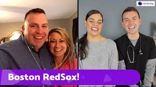 Nurse, Veteran To Throw The First Pitch At Redsox Game