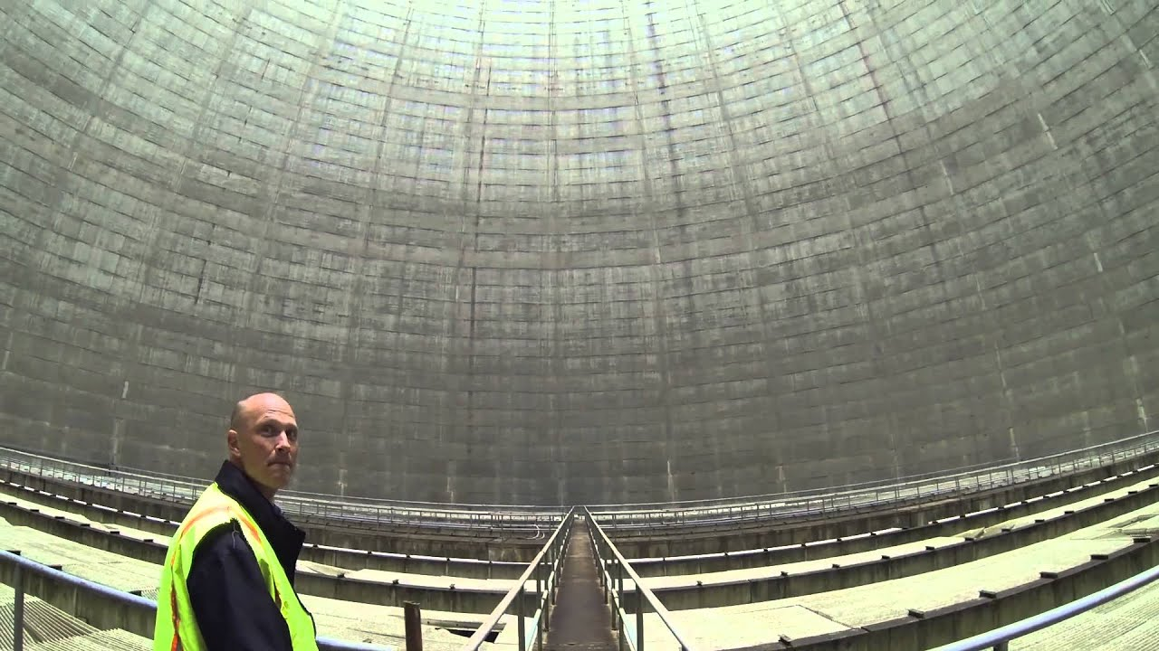 Inside Nuclear Cooling Tower