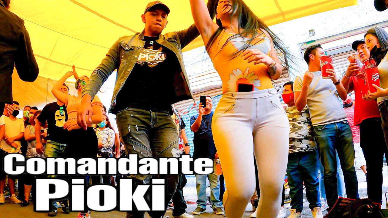 🚩ASI BAILA EL COMANDANTE PIOKY EN TEPITO CON SONIDO MEMO MIX LA CUMBIA