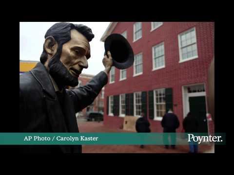 Poynter: Roy's reads Gettysburg Address
