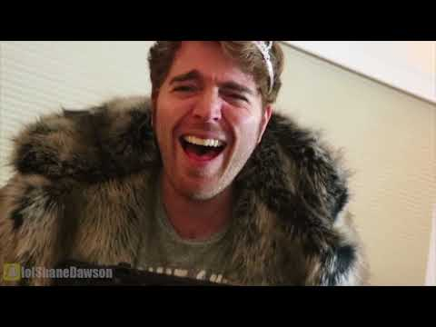 Shane Dawson breaking (Queen) character