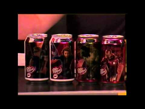 MEDIA ZONE 5-22-2012 Pt 1 AVENGERS DR Pepper Cans