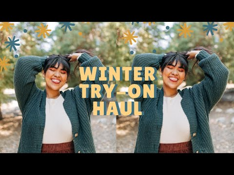 HUGE American Eagle Winter Try-On Haul ❄️