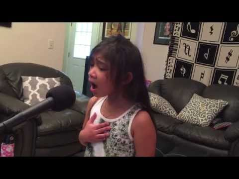 Think of Me Phantom of the Opera  Angelica Hale 7 years old