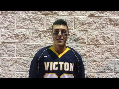Jamie Trimboli, Victor High School Varsity Midfielder, NYSPHSAA Semis 06/08/16
