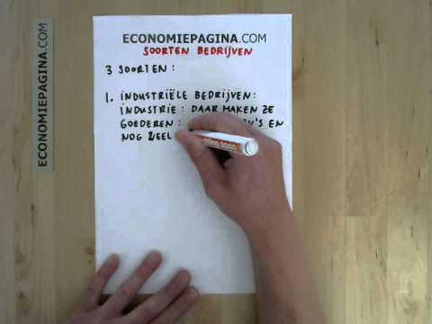 Soorten bedrijven (Economiepagina.com)