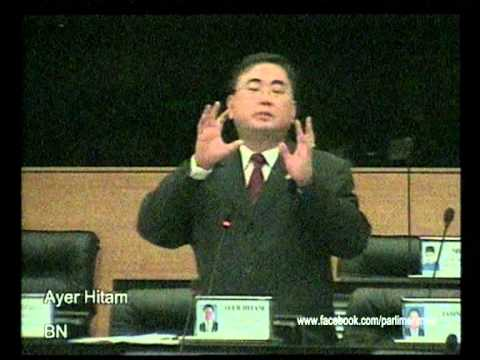 Parlimen Malaysia : Perbahasan dari YB Ayer Hitam