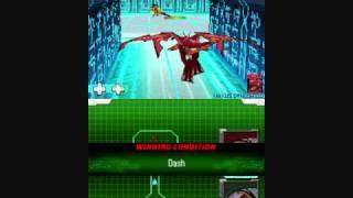Bakugan Battle Brawlers - Defenders of the Core DS Gameplay