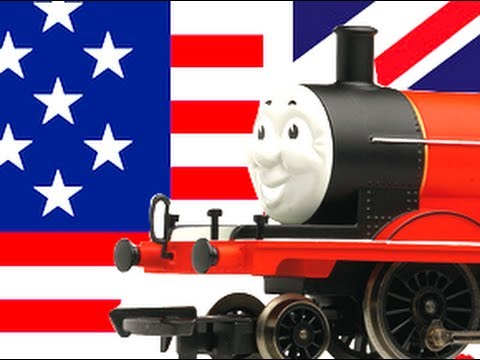 Hornby James vs Bachmann James : Thomas & Friends Range UK vs USA!!!