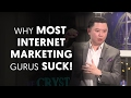 Why Most Internet Marketing Gurus Suck - The Death of Information Products!