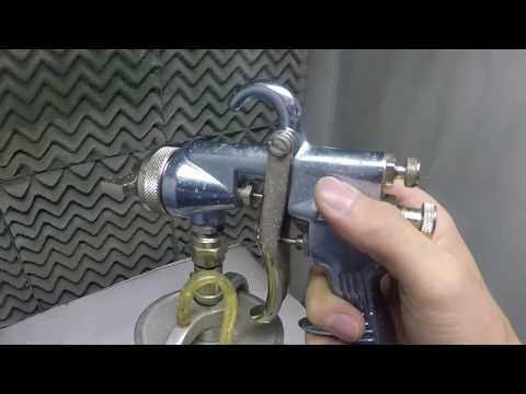 Spray Gun Problems and Their Solutions