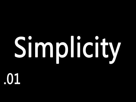 Originalidad - SIMPLICITY - Ep 1