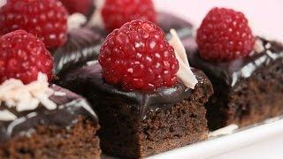 Moist Raspberry Chocolate Brownie Tutorial