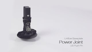 Video: UNIFIBER BASEPLATE POWER JOINT (US-PUSH PIN)