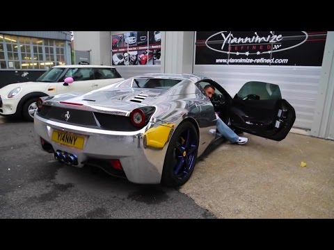 Ferrari 458 Spider w/ Armytrix Titanium Muffler by Yiannimize - Review & On Board Sounds