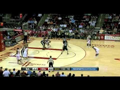 Spurs vs Rockets 2010 NBA Preseason 10/07/2010