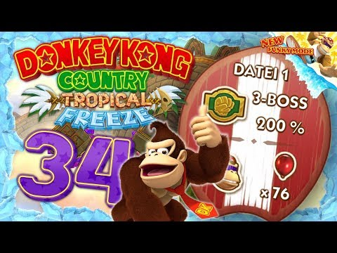 DONKEY KONG COUNTRY: TROPICAL FREEZE #34: Die vollen 200%! Es ist vollbracht! [1080p] ★ Let's Play