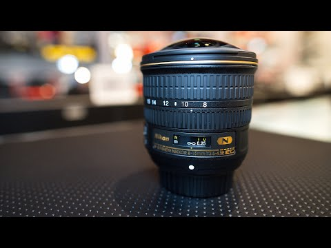 Nikon 8-15mm F3.5-4.5E Fisheye Lens Hands-On And Opinion