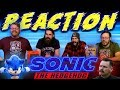 Sonic The Hedgehog - New Official Trailer REACTION!!