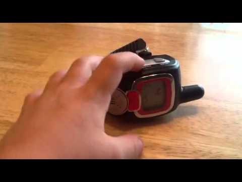 Spy Gear Wrist Walkie Talkies - YouTube