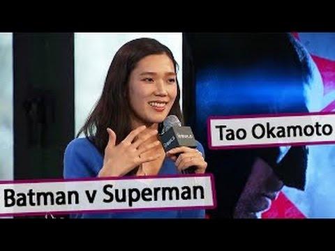 TAO OKAMOTO Interview on her role in upcoming Batman v Superman: Dawn of Justice [03 03 20