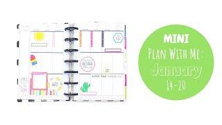 MINI Plan With Me | JAN 14-20