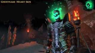 Path of Exile - Ghostflame Helmet Skin