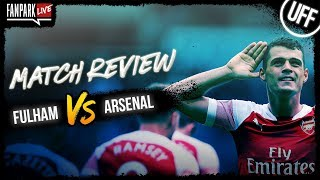 Fulham 1-5 Arsenal - Goal Review - FanPark Live