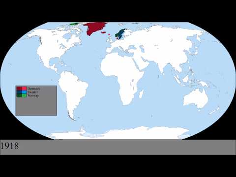 The Scandinavian Colonial Empires: Every Year