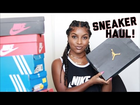 HUGE Sneaker Haul! NIKE, ADIDAS