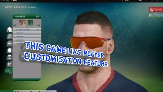 OMG a brand new cricket game which have player custimization feature