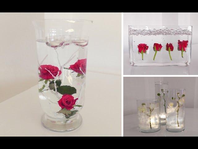 DIY: Centerpiece Für Tisch Deko    Unterwasser Blumen | Deko Kitchen    Clipzui.com